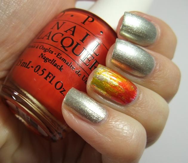 OPI Color Paints Fire 02