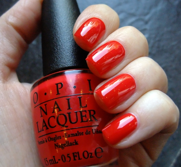 OPI - I STOP for Red 01