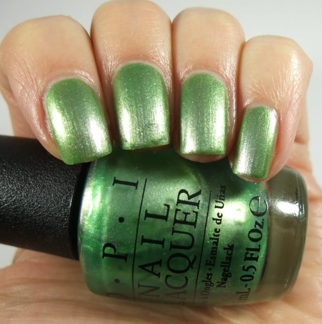 OPI - Visions of Georgia Green 01
