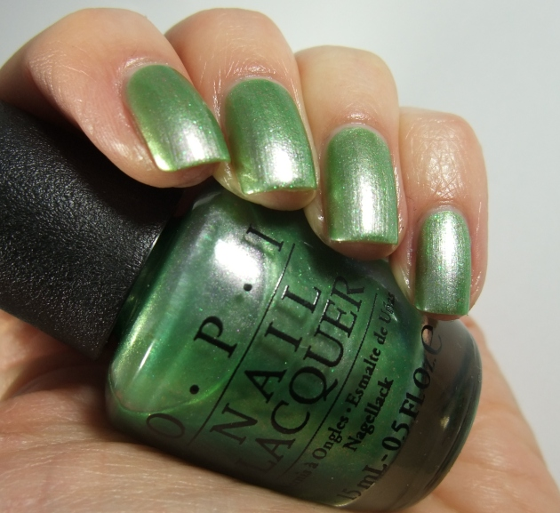 OPI - Visions of Georgia Green 07