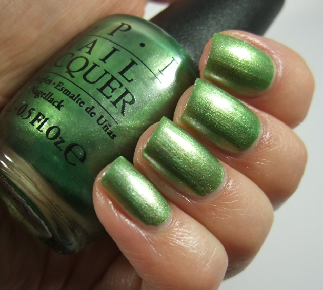OPI - Visions of Georgia Green 10
