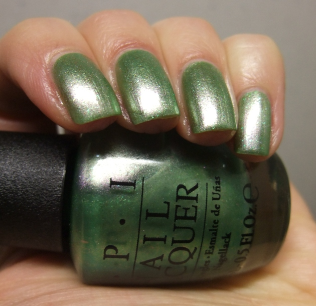OPI - Visions of Georgia Green 13