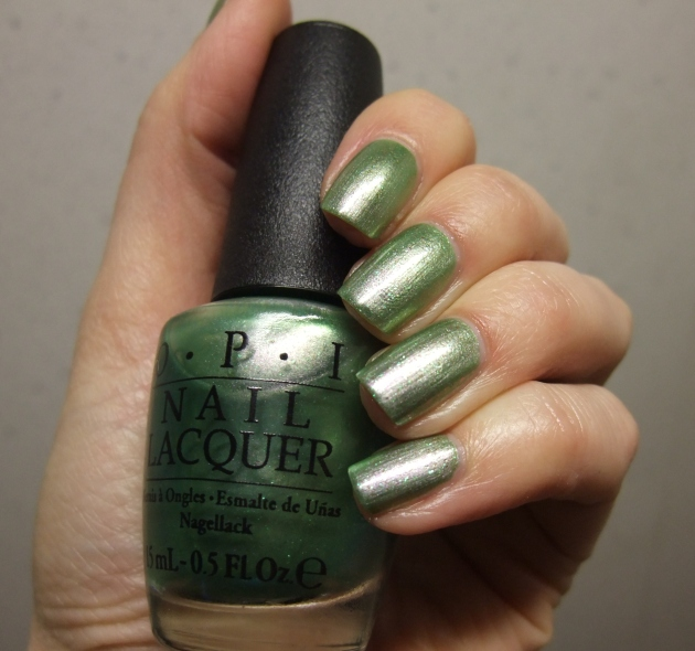OPI - Visions of Georgia Green 20