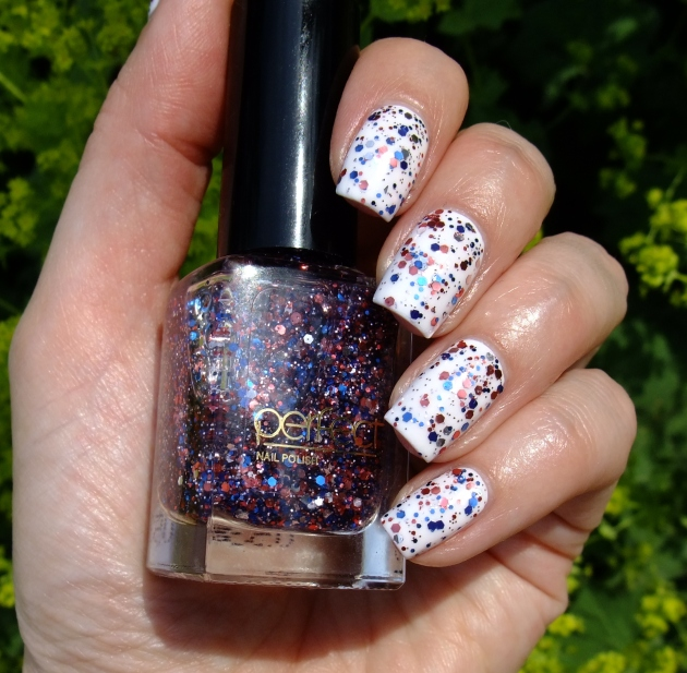 Perfect - Blue Red Glitter 01