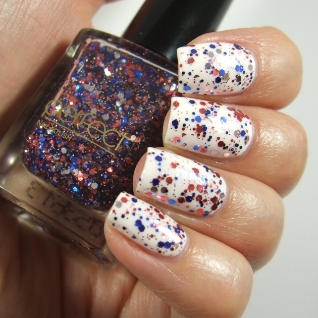 Perfect - Blue Red Glitter 11