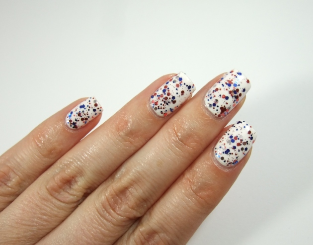 Perfect - Blue Red Glitter 16