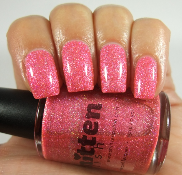Smitten Polish - Pink Elephant 01